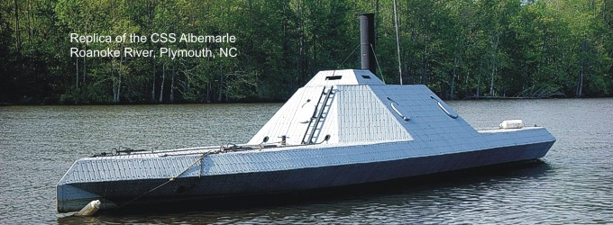 CSS Albemarle replic located in Plymouth, NC